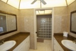 Master bedroom bathroom with shower image
