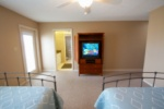 TV in the master bedroom image