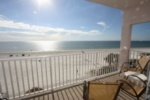 Private balcony overlooking the beach and Gulf of Mexico image