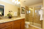 Second floor master bath image