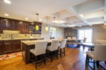 Welcome to this beautiful Avon Center penthouse. The open Kitchen and Dining Room create a classy atmosphere to socialize with friends and family. image