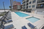 Beachside pool area image