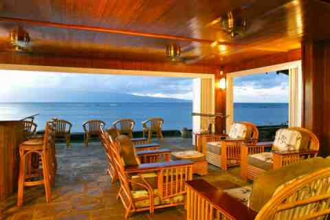 Maui Beach House Hawaiian Style