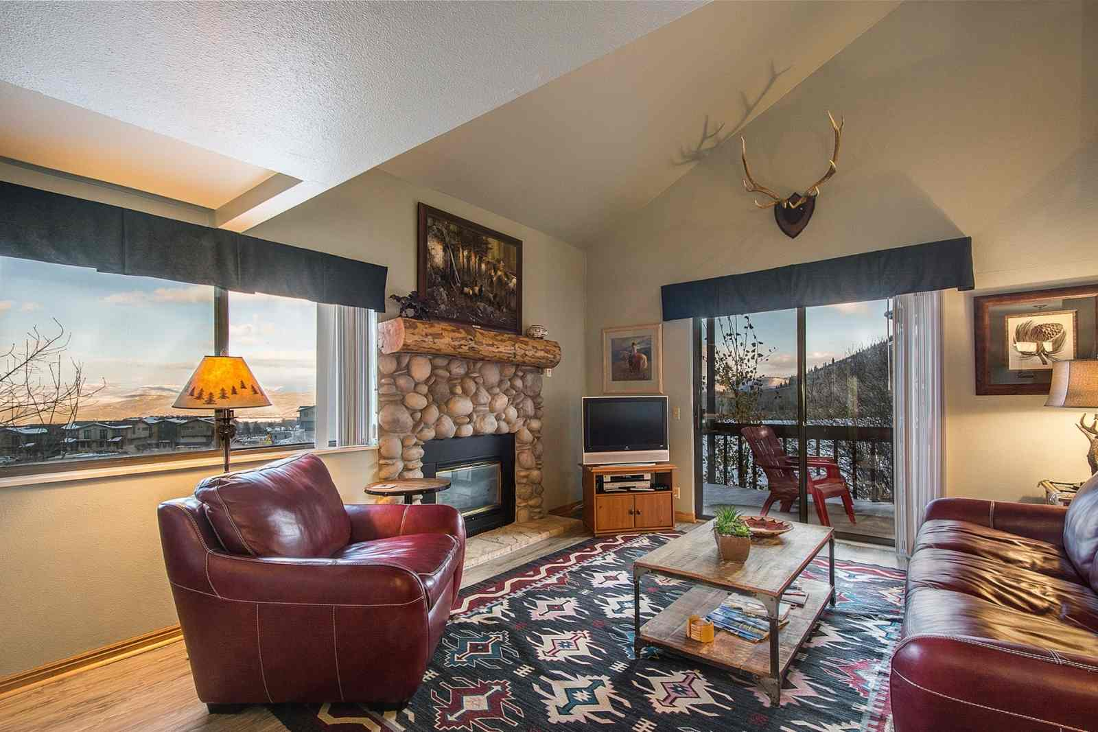 park city vacation rental red pine paradise woods canyons at