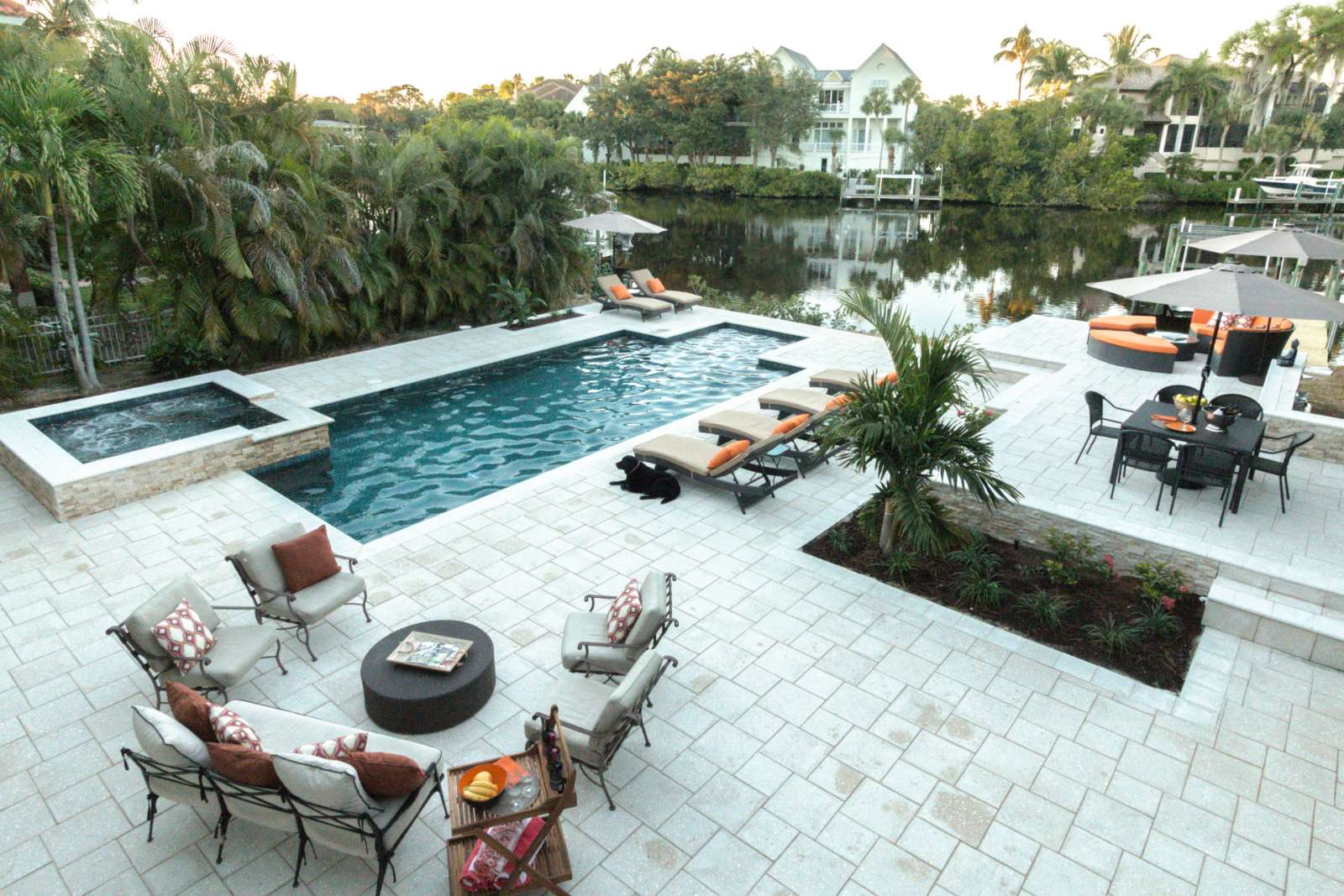 Bonita Springs Vacation Rental | Professionally Decorated Waterfront Home  W/htd.pool,spa, Dock  Less Than 2 Miles To Barefoot Beach!