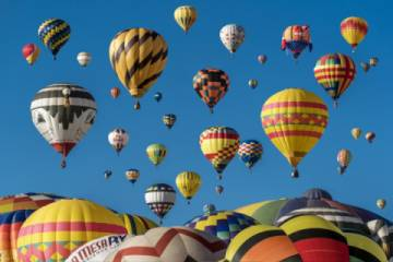The Snowmass Balloon Festival September 8-10, 2017 is an iconic fall event not to be missed. (Pic)