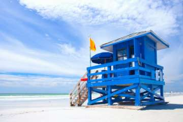 Siesta Key Lifeguard stations (Pic)