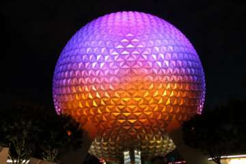 Epcot in Orlando welcomes you to learn about different cultures through food, rides and shopping. (Pic)