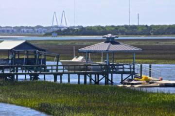 Sullivan's Island with Intracoastal Waterway (Pic)